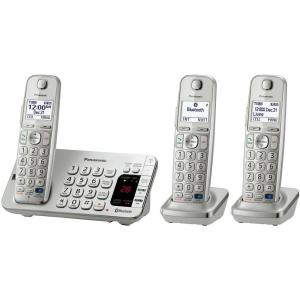 Panasonic Link2Cell 3-Handset Digital Cordless Bluetooth Cellular Convergence...