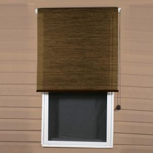 Coolaroo Sandalwood Exterior Roller Shade, 92% UV Block (Price Varies by Size)