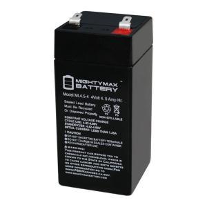 Battery Size: 4.5 Volt