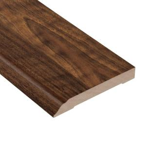 TrafficMaster Spanish Bay Walnut 12.7 mm Thick x 3-13/16 in. Wide x 94 in. Length Laminate Wall Base Molding