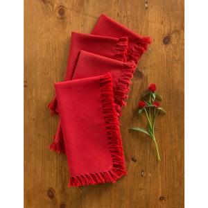 April Cornell cloth napkins & napkin rings
