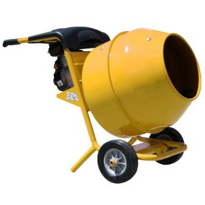 PRO-SERIES 5 cu. ft. Gas Powered Commercial Duty Cement and Concrete Mixer by