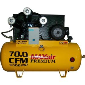 Maxair 120-Gal. Premium Industrial 15 HP Electric 230-Volt Single Stage 3-Phase Air Compressor