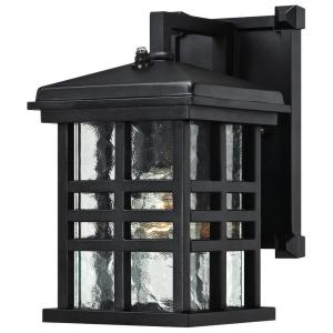caliste textured black outdoor dusk to dawn wall lantern