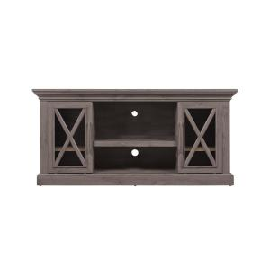 Bell'O Cottage Grove TV Stand for 65 inch TVs in Spanish Gray by