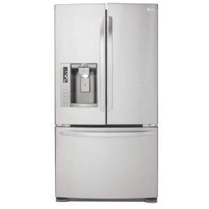 LG Electronics 27.6 cu. ft. French Door Refrigerator in Stainless Steel with Dual Ice Makers
