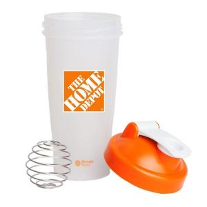 Click here to buy The Home Depot 28 oz. Blender Bottle Shaker in Orange by The Home Depot.