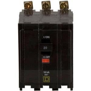 3-Pole QO Plug In Circuit Breakers by Square D m