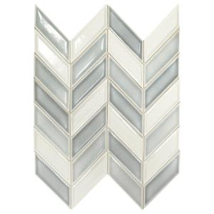 Chevron Tile Backsplashes Tile The Home Depot