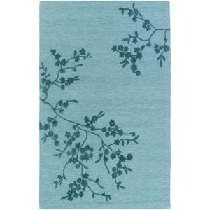 Artistic Weavers Alexander Smith Turquoise 8 ft. x 10 ft. Indoor Area Rug by