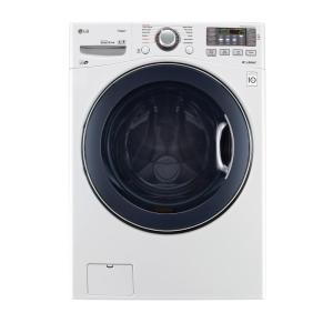 LG Electronics 4.5 cu. ft. High-Efficiency Front Load Washer with Steam and... by LG Electronics