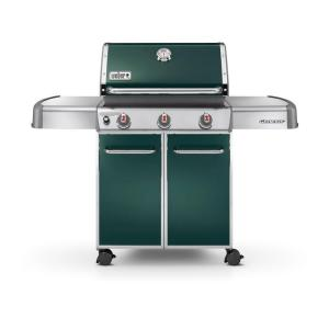 Weber Genesis E-310 3-Burner Propane Gas Grill in Green