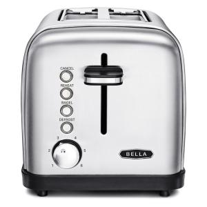 Bella Classics 2-Slice Stainless Steel Toaster by