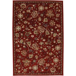 American Rug Craftsmen Emerson Crimson 3 ft. 6 inch x 5 ft. 6 inch Accent Rug by