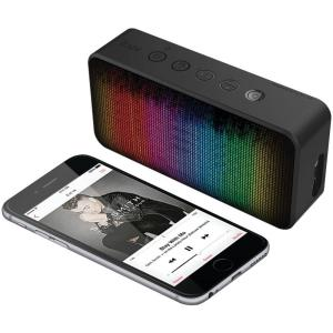 iLuv Bluetooth Speaker with Party Pulsed LED Light by
