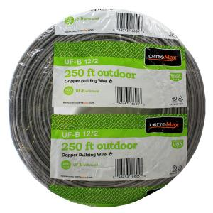 10//2 W//GR UF-B 35/' FT OUTDOOR DIRECT BURIAL//SUNLIGHT RESISTANT ELECTRICAL WIRE