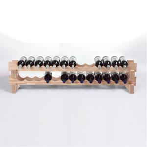 Mahogany wine racks