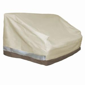 Patio Armor 380 g Polyester Patio Love Seat or Bench Cover