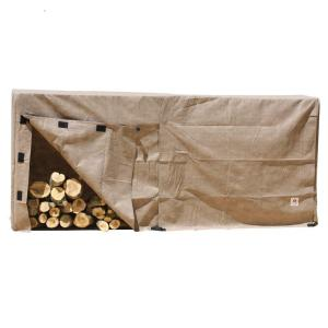 Duck Covers Elite 100 inch L Log Rack Cover by