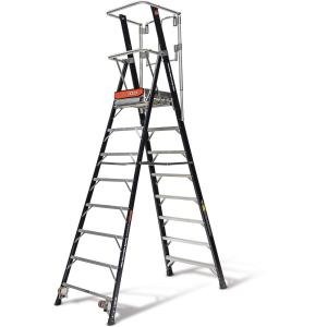 Little Giant Ladder Systems 8 ft. Fiberglass 375 lbs. Rated Type IAA Safety Cage by Little Giant Ladder Systems