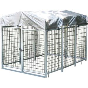 Options Plus 4 ft. x 6 ft. x 4 ft. Folding Quick Kennel