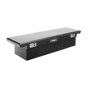 Husky 70 in. Topsider Black Low-Profile Truck Box