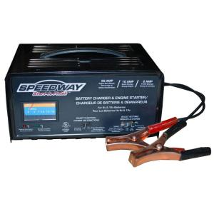 SPEEDWAY 120-Volt 2.2 Amp Battery Charger and Starter by SPEEDWAY