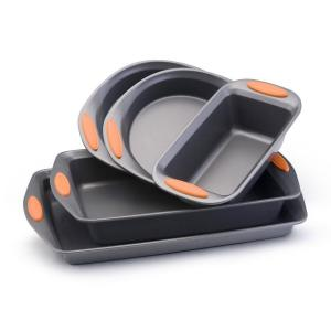 Rachael Ray Oven Lovin' 5 pc. Bakeware Set with Orange Handles