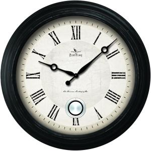 FirsTime 24 inch Round Adair Wall Clock by FirsTime