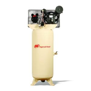Ingersoll Rand Type 30 Reciprocating 60 Gal. 5 HP Electric 230-Volt 3 Phase Air Compressor by