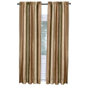 Achim Semi-Opaque Ombre Earth Polyester Panel Curtain - 50 inch W x 84 inch L by