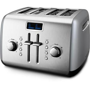 KitchenAid 4-Slice Toaster in Contour Silver