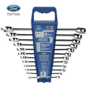 SAE Elliptical Combination Wrench Set (12-Piece) by