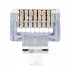 Platinum Tools EZ-RJ45 Connector for Category 5 or 5e (Pack of 500)