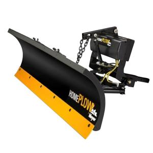 Home Plow by Meyer 80 inch x 22 inch Residential Power Angle Snow Plow by Snowplows