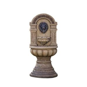 Jeco Classic Lion Head Wall Water Fountain by