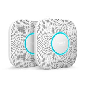 Nest Protect Wired Smoke and Carbon Monoxide Alarm (2-Pack) by Nest