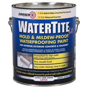 Zinsser Watertite 1-Gal. Latex Concrete and Masonary Waterproofer