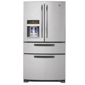 Maytag ICE2O Easy Access 25 cu. ft. French Door Refrigerator in Monochromatic Stainless Steel