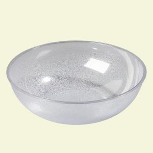 Carlisle 18 qt., 18.75 inch Diameter Polycarbonate Round Display and Serving Bowl in Clear (Case of 4) by