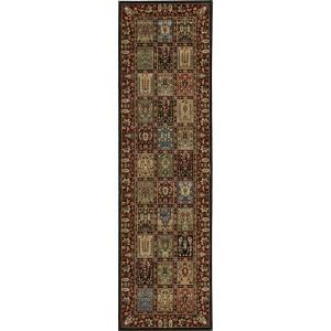 Nourison Persian Arts Multicolor 2 ft. 3 inch x 8 ft. Rug Runner