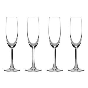 Cuisinart Advantage Glassware Essentials Collection Champagne Flutes (Set of 4) by