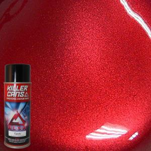 Alsa Refinish 12 Oz Candy Apple Red Killer Cans Spray
