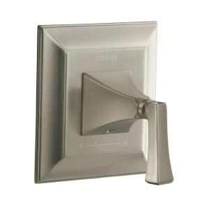 KOHLER Memoirs 1-Handle Stately Thermostatic Valve Trim Kit in Vibrant Brushed Nickel - Deco Lever Handle (Valve Not Included)