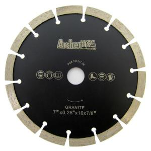 Archer USA 7 inch Tuck Point Diamond Blade for Mortar Removal and Grooving