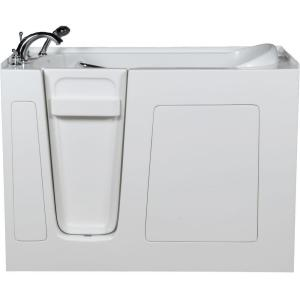 Allure Walk In Tubs 4.42 ft. Walk-In Bathtub in White