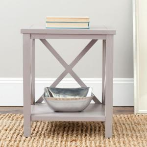 Safavieh Candence Gray End Table by