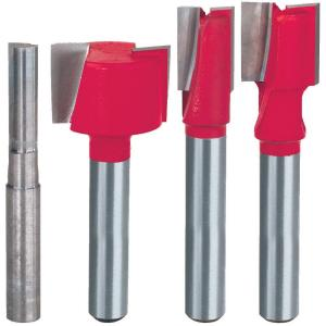 Diablo Undersized Plywood Router Bit Set (4-Piece) from Router Bits