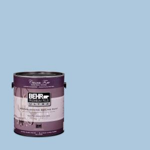 BEHR Premium Plus Ultra 1-Gal. No.UL230-9 Ceiling Tinted to Caspian Tide Interior Paint