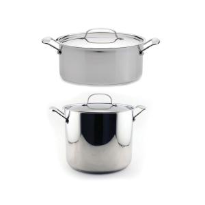 Click here to buy BergHOFF EarthChef Stockpot (Set of 2) by BergHOFF.